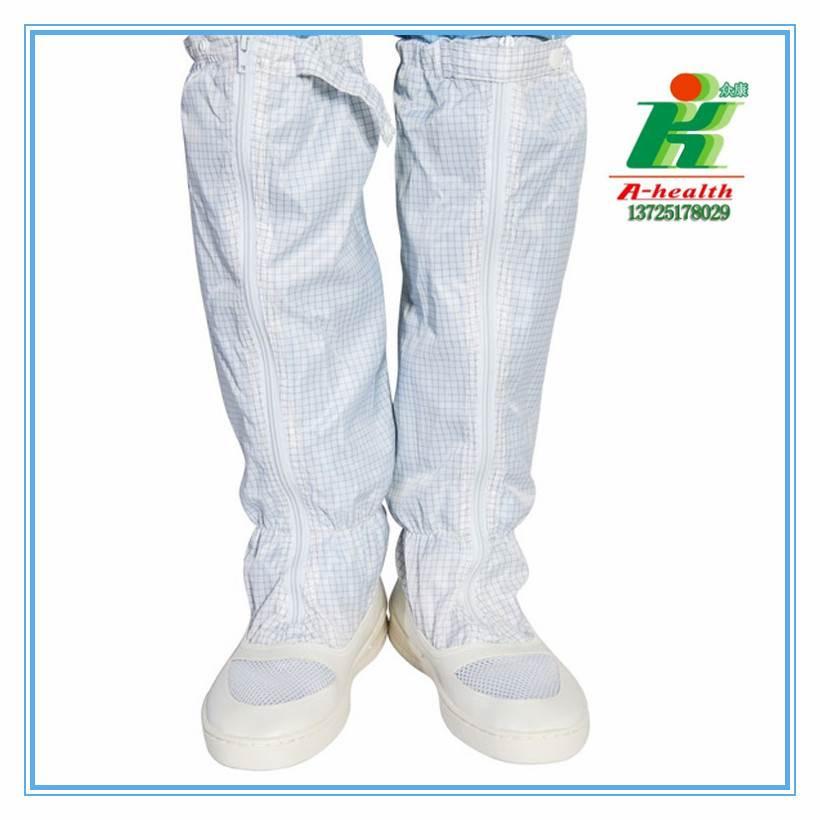 厂家直销防静电网面套筒靴,无尘靴