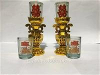七彩缘蜡烛玻璃杯厂家直销 配套齐全玻璃厂家