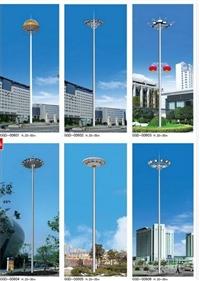 嘉兴30米高杆灯 宁波20米高杆灯 金华广场升降式高杆灯