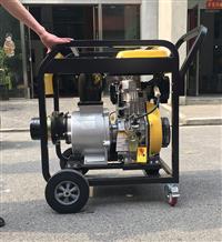 防汛专用便携式柴油机水泵