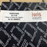 EuroChain德国IWIS滚子链条EC-12-M/12B-1进口供应