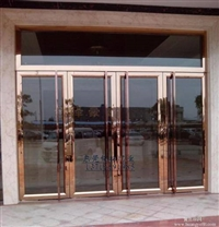 海淀区安装玻璃门 安装玻璃门地弹簧换玻璃门