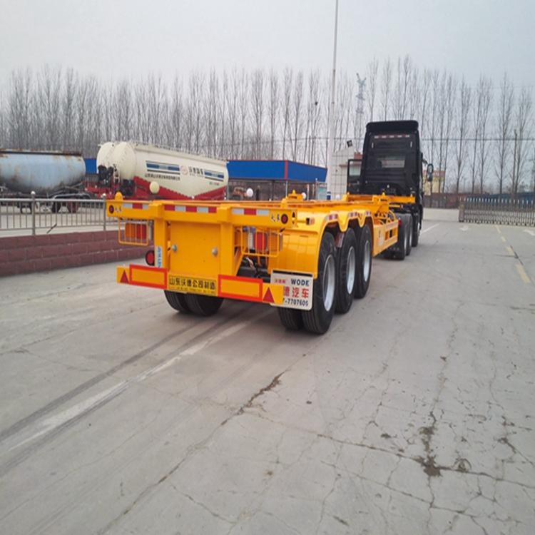 7米5二桥集装箱车是多少钱