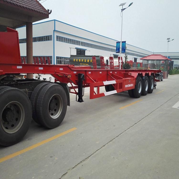 7米5二桥集装箱运输车随时报