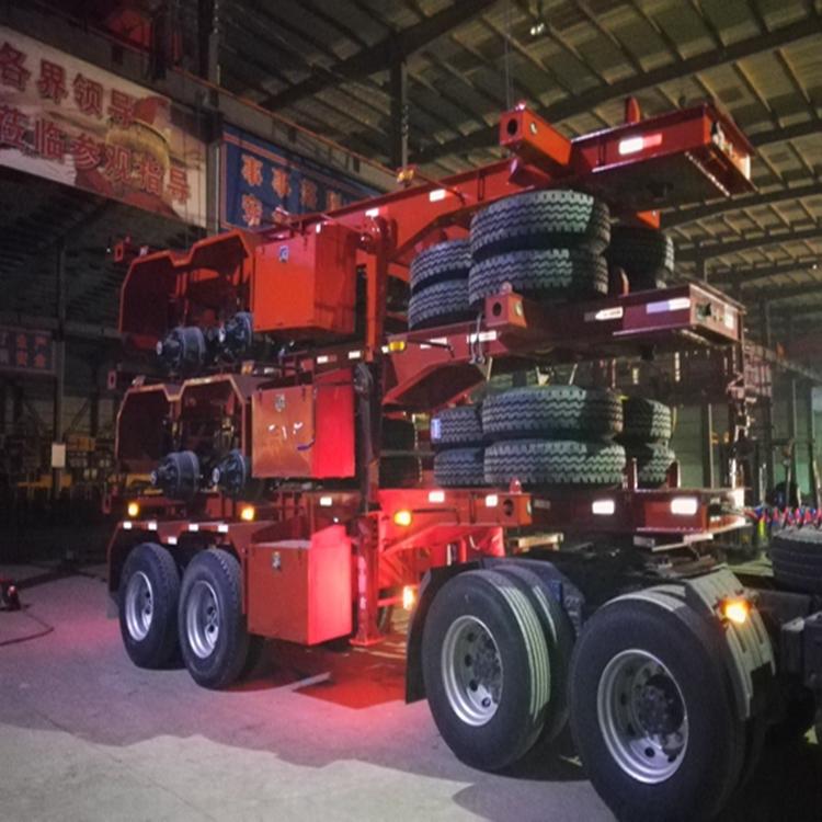 7米5二桥骨架集装箱车好厂家在梁山