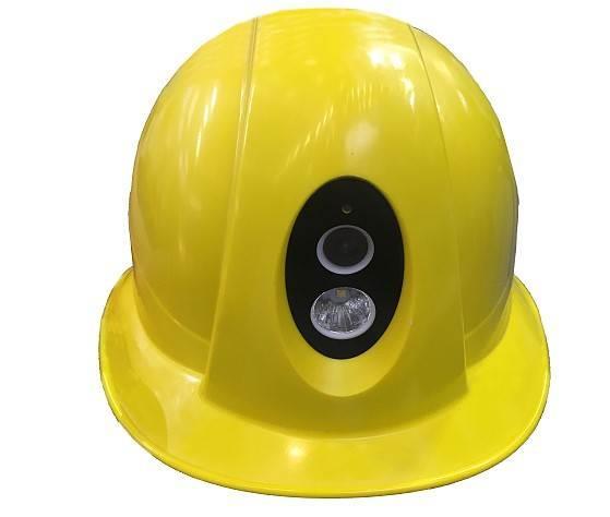 4G高清智能头盔无线监控传输
