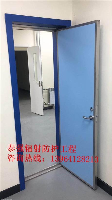 医用手动防护铅门几个铅当量验收合格