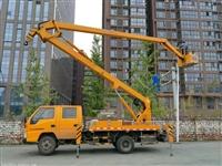 成都高空作业车出租、车载式举升车租赁、路灯安装车出租