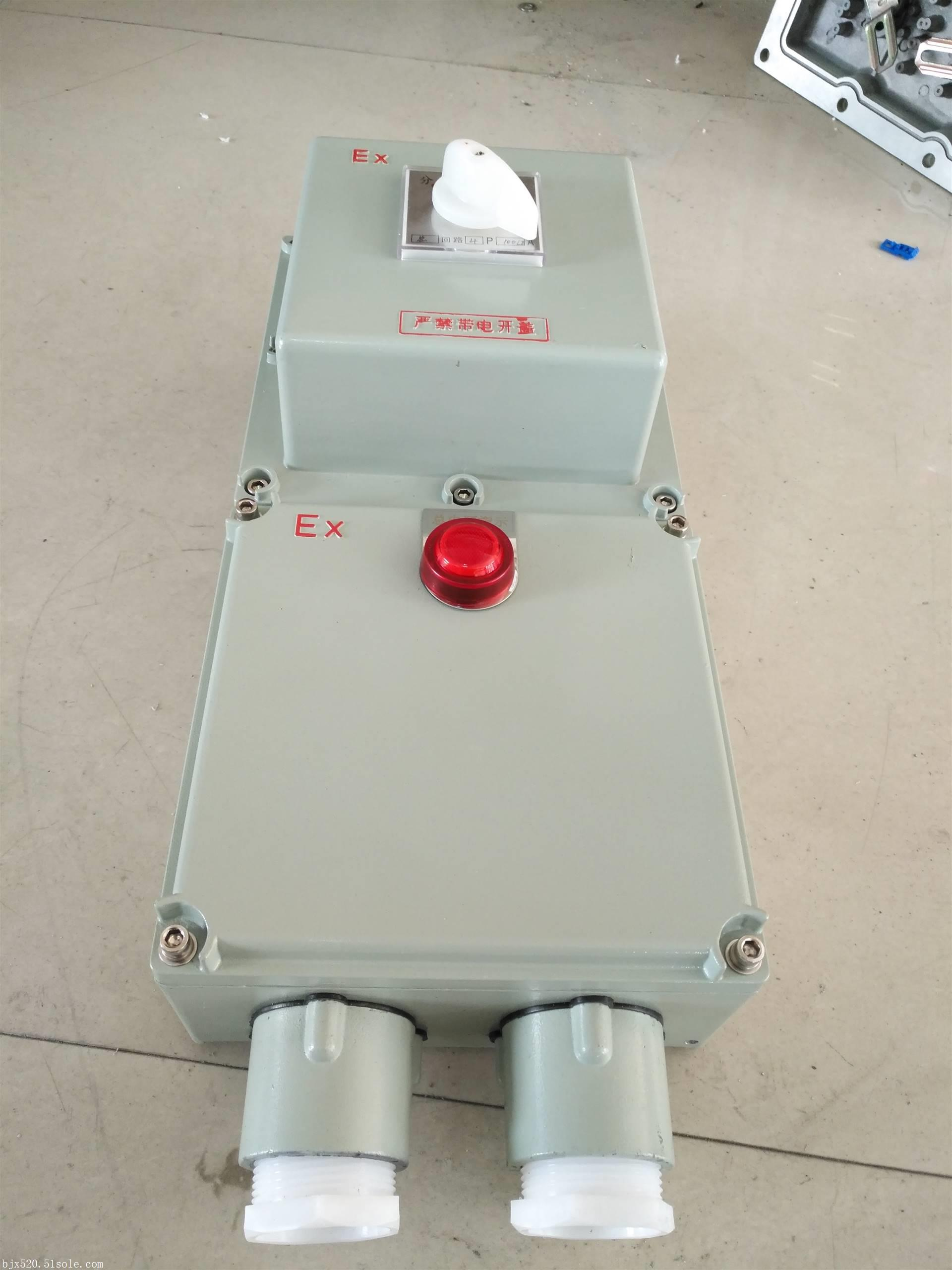 防爆断路器BDZ52-16A