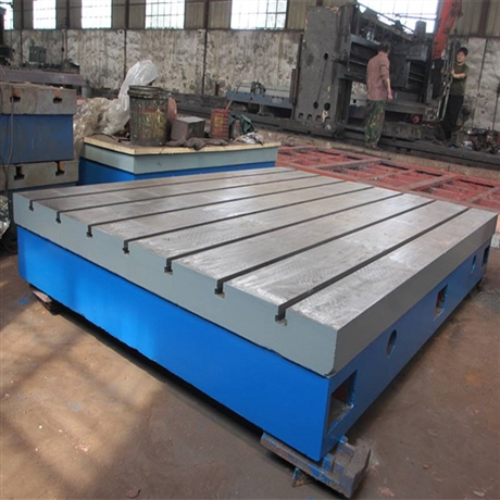 机床工作台T型槽平台 机床增高工作台 机床辅助工作台我们更专业