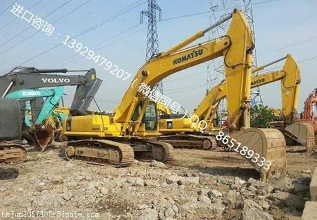 新疆二手挖掘机进口如何清关