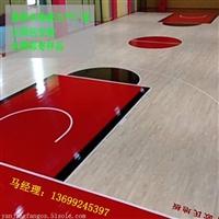 篮球木地板现场做漆打磨翻新