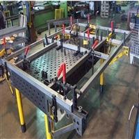 三�S柔性焊接工作�_ �T�F焊接平�_ T型槽焊接平板