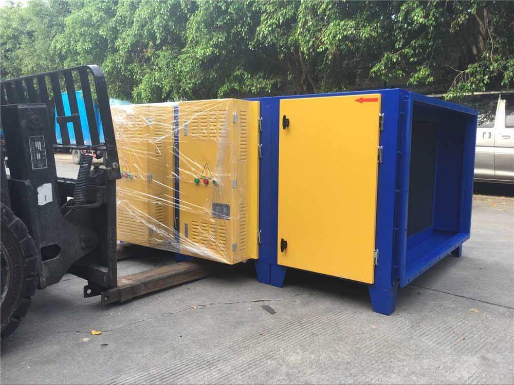 供应中山低温等离子净化器 喷漆废气净化器设备