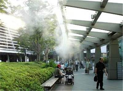 度假酒店绿化带冷雾系统人造雾价格优惠