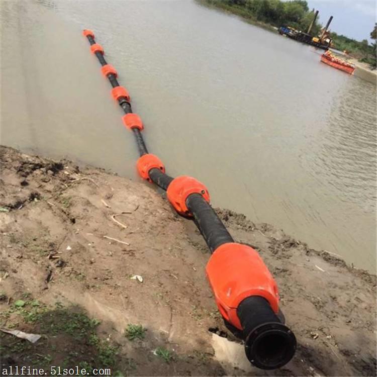 抽沙管浮体 保护管子的浮筒 海上抽油疏浚管浮