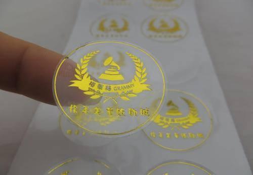 厂家直销透明不干胶  可定做各种规则