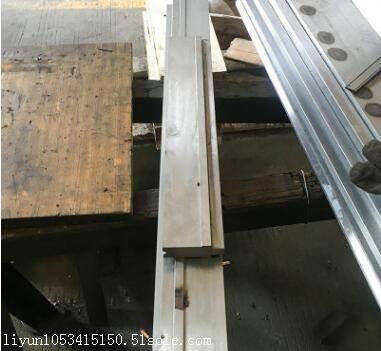 厂家定制 品质保证 数控分段单V下模 折弯机模具可定做