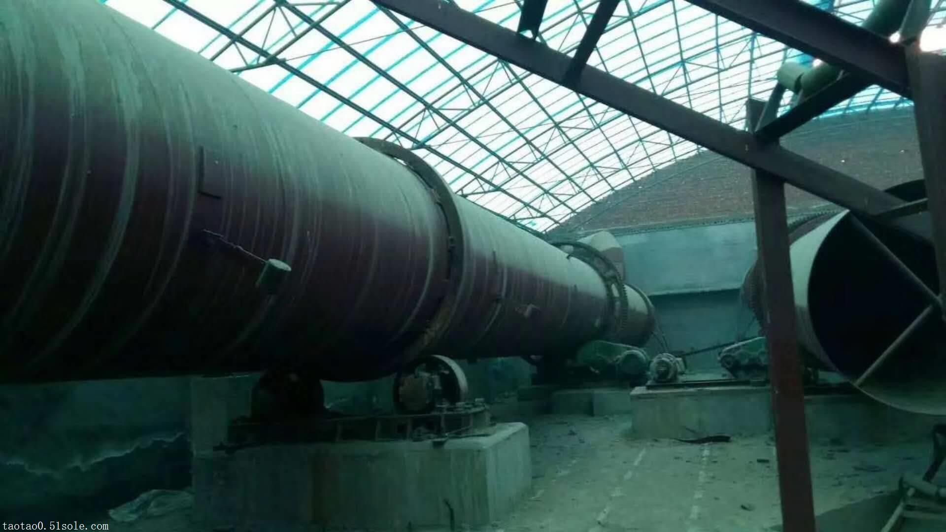河北化工厂搬迁处理二手滚筒干燥机二手三筒干燥机