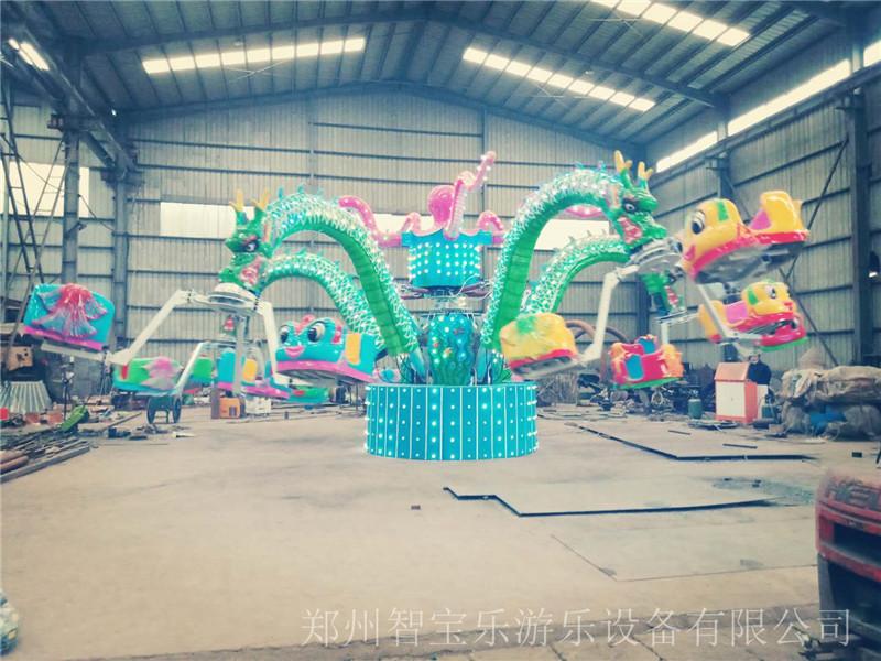 游乐园大型旋转章鱼游乐设备 厂家专业生产
