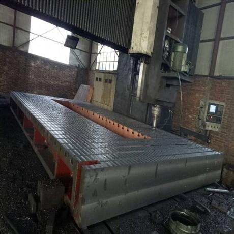 铸铁T型槽平台平板 机床工作台厂家 电机试验平台 铁地板