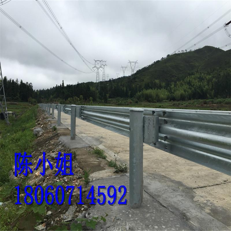 永泰乡村公路护栏板 喷塑波形钢护栏