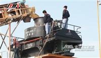 一小时200吨产能的石灰石制沙机 机制砂生产线