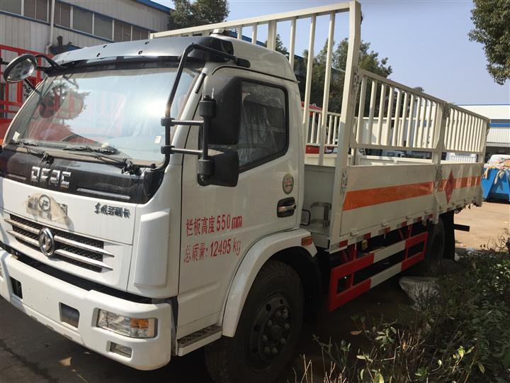 湖北襄阳供应东风微型易燃气体厢式车