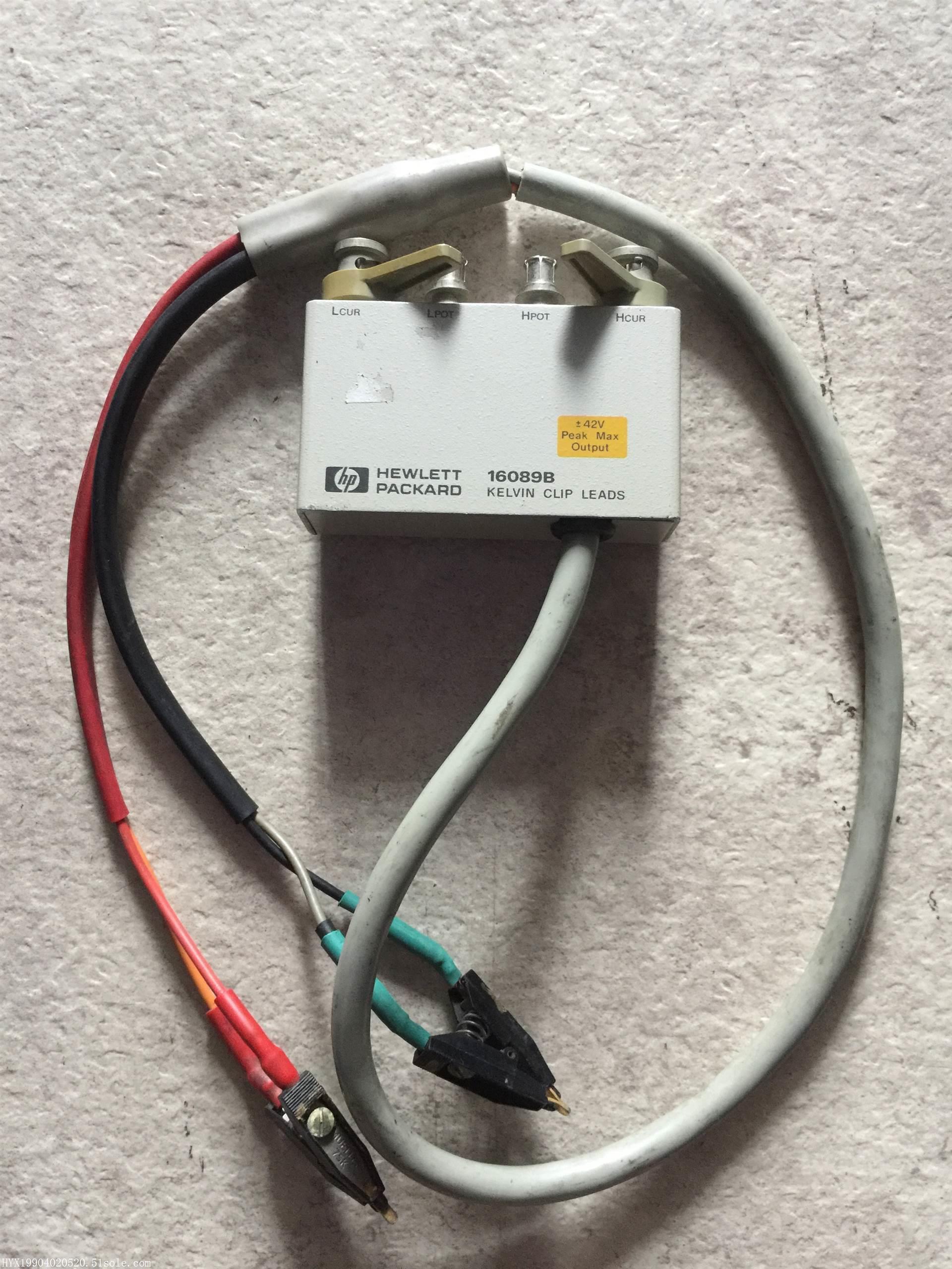 5折甩货HP16089B电感测试夹具Agilent16089B刘S 158-8930-0166