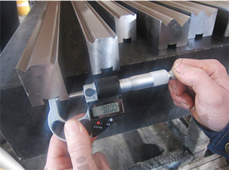 折弯机模具规格尺寸