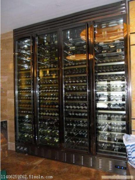 黑钛不锈钢酒柜架