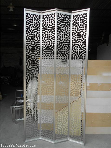不锈钢装饰隔断订做加工厂家 不锈钢精美金属隔断