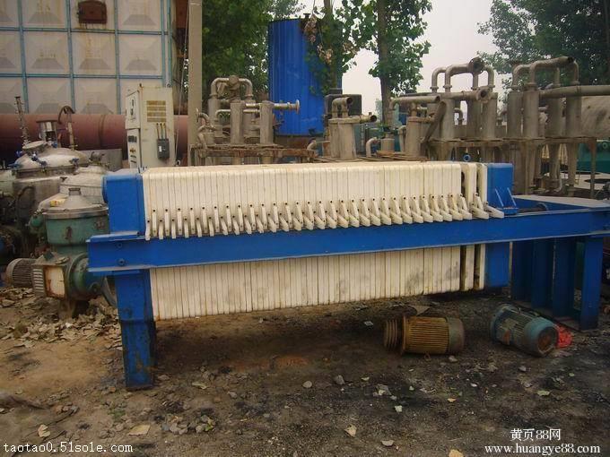 化工厂拆迁处理二手压滤机  二手隔膜压滤机