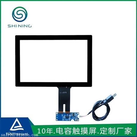 10.1寸电容触摸屏外屏 控制台电话机视频监控系统i2c电容式触摸屏