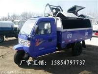山东青岛自装卸式三轮垃圾车 环卫电动三轮垃圾车价格低