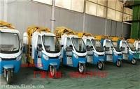 河北勾臂式垃圾运输车 自卸式电动垃圾车