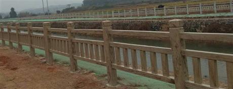 水泥仿木护栏栏杆厂家