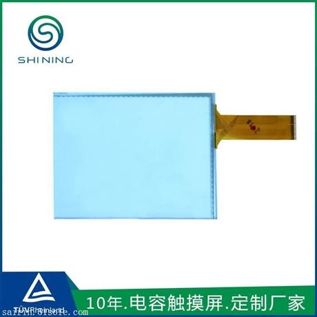 10.4寸电气控制系统电容式触摸屏 东莞工厂定做USB接口多点触摸屏
