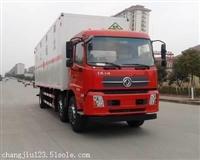 14吨气瓶运输车/东风易燃气体厢式运输车厂家直销