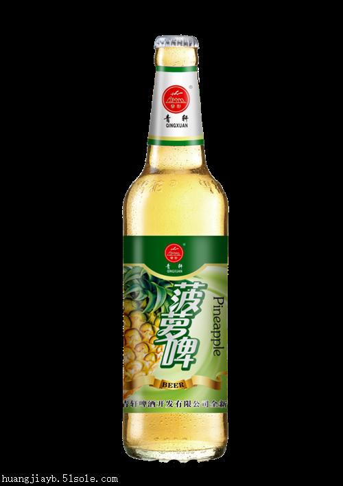 安徽地区青轩菠萝果啤啤酒招合作商18641191259倪青岛皇家英博啤酒