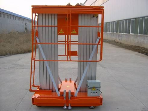 湖北仙桃铝合金电动液压升降机移动升降平台