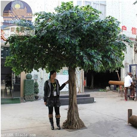 仿真橄榄树室内外大树假橄榄树人造榕树玻璃钢大型仿真树厂家直销