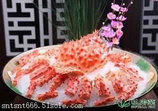 天津阿拉斯加帝王蟹进口通关世能通价格更低