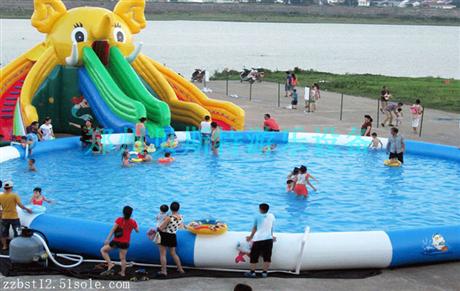 辽宁朝阳水上乐园厂家定做可拆卸支架水池优惠价质保三年