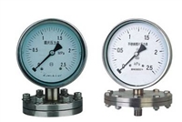 耐震膜片压力表YP-60/YP100/YP150-BZ
