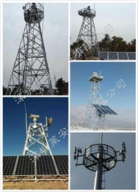 山区树林森林防火无线传输系统 无线视频监控 远距离网桥安装
