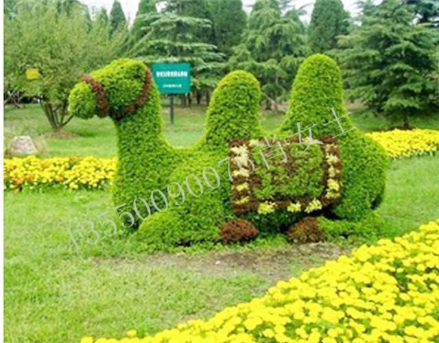 雕塑造型厂家 景观园林雕塑 动物卡通仿真绿雕