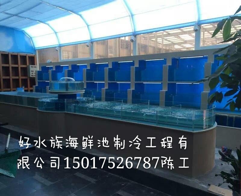 广西水产店海鲜池订做 南宁大排档海鲜池定