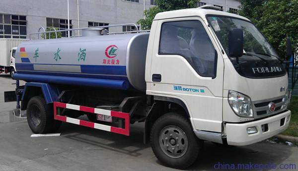 甘肃5吨洒水车多少钱一台