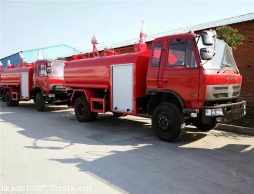 三方水罐消防车  小区 厂区使用方便
